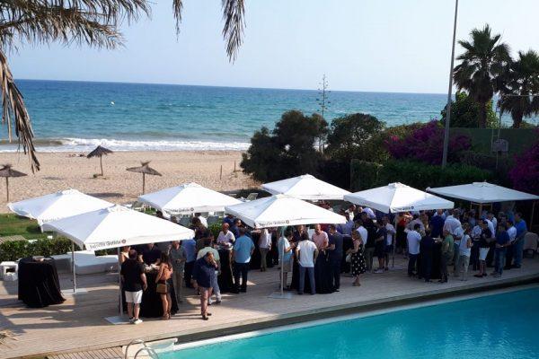 Outdoor meeting BEACH Gava Mar beach club