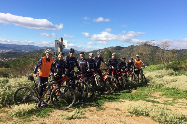 HFC eBike wine route penedes (2)