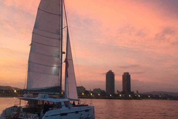 Incentive Catamaran cruise in barcelona