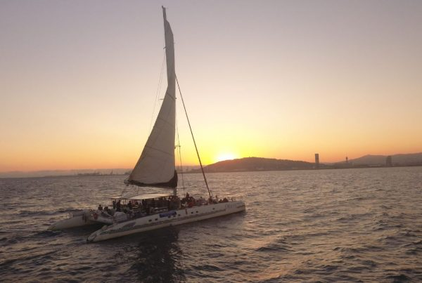 Incentive Catamaran cruise in barcelona