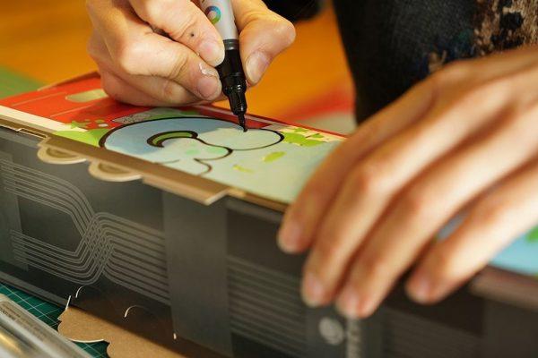 GRAFFITI ARTIST TEAM ACTIVITY